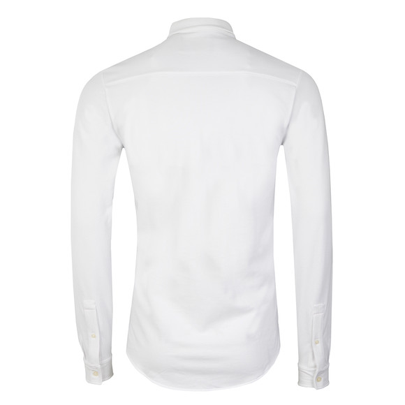 Lyle and Scott Mens White Jersey Pique Shirt main image