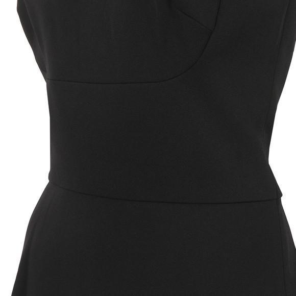 Michael Kors Womens Black Seam Detail Dress main image