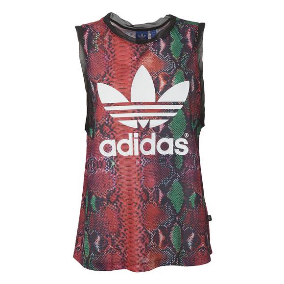 Adidas Originals Womens Multicoloured Soccer Tank Top main image