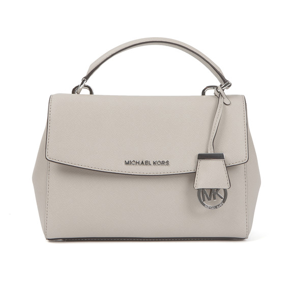 Michael Kors Womens Grey Ava Small Satchel main image