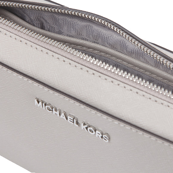 Michael Kors Womens Grey Mid EW Crossbody main image
