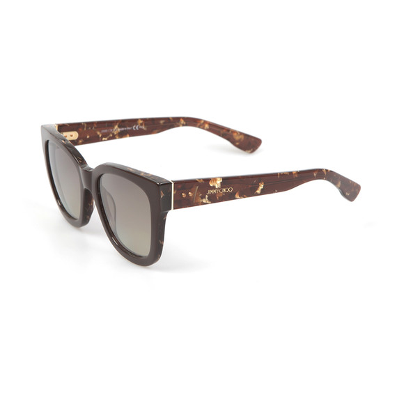 Jimmy Choo Womens Brown Otti Sunglasses main image