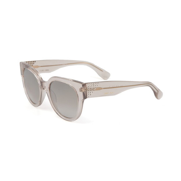 Jimmy Choo Womens Transparent Ola Sunglasses main image