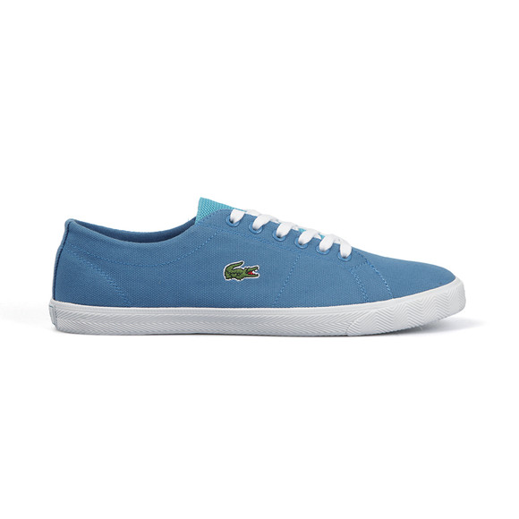 Lacoste Sport Boys Blue Marcel AUR Canvas Trainer main image