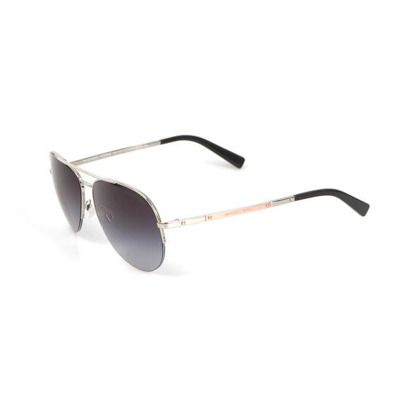 Michael Kors Womens Silver MK1001 Gramercy Sunglasses main image