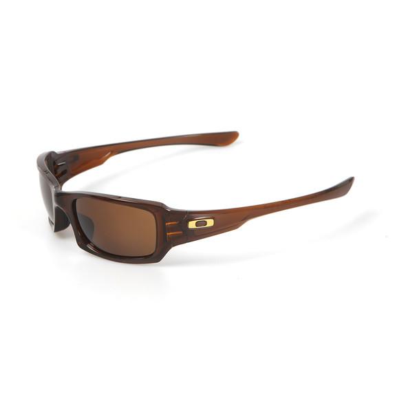 Oakley Mens Brown Fives Squared Sunglasses main image