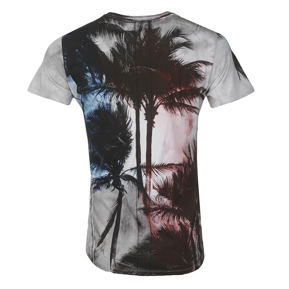 Religion Mens White Palm Scoop Neck T-Shirt main image