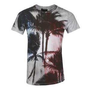 Palm Scoop Neck T-Shirt