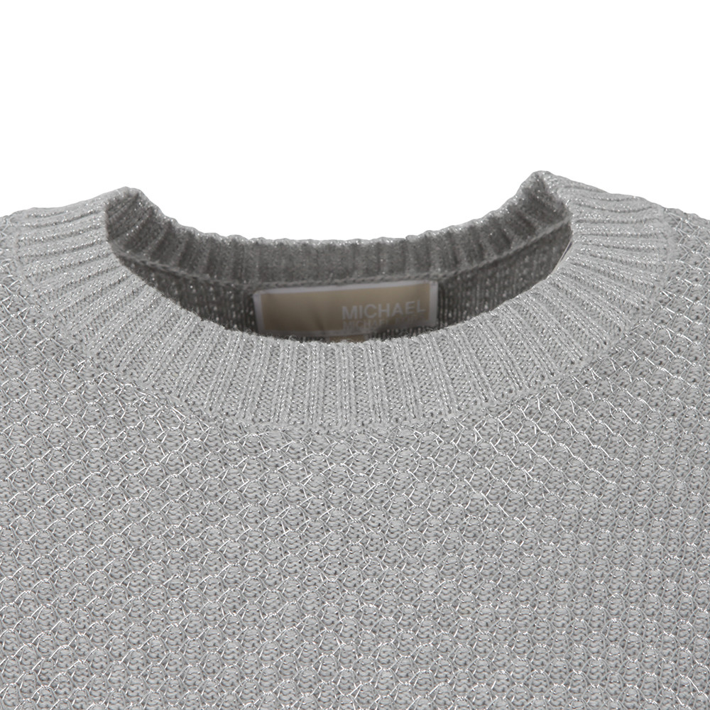 Metallic Chainmail Sweater main image