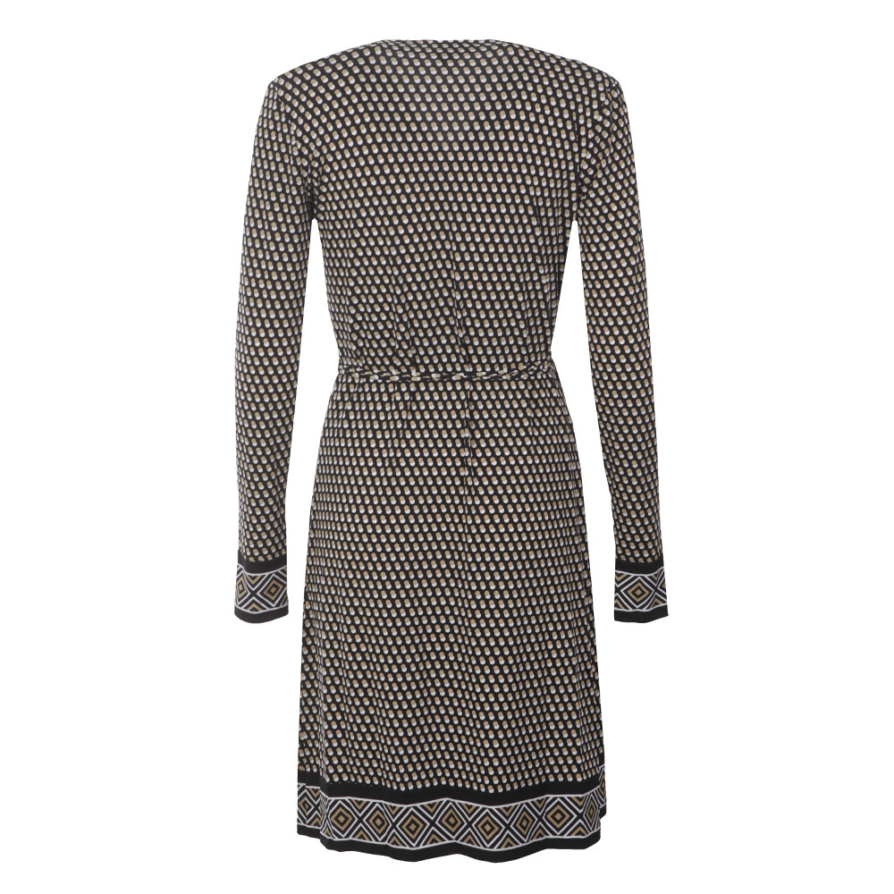 Alston Border Wrap Dress main image