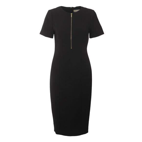 Michael Kors Womens Black Zip Dress main image