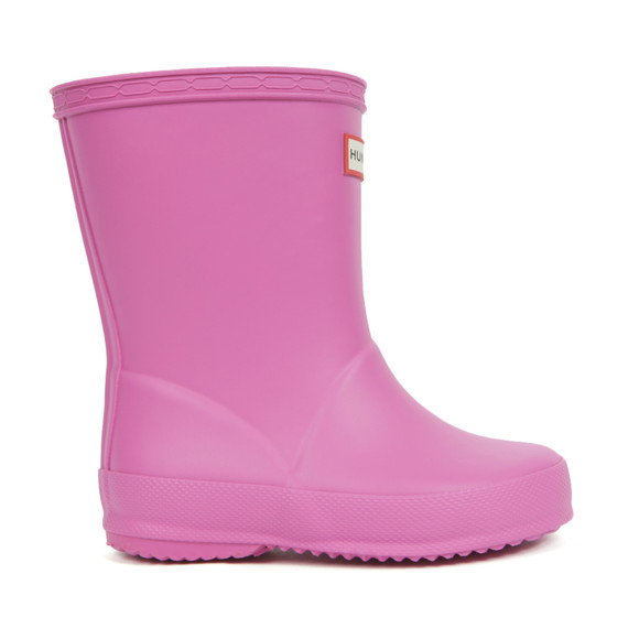 Hunter Unisex Pink Kids First Wellington main image
