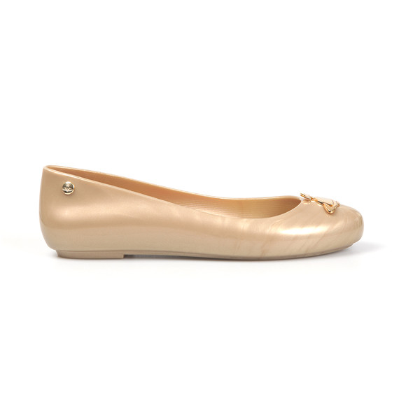 Vivienne Westwood Anglomania X Melissa Womens Gold Space Love 16 Shoe main image