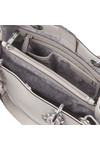 Michael Kors Womens Grey Cynthia Mid Satchel