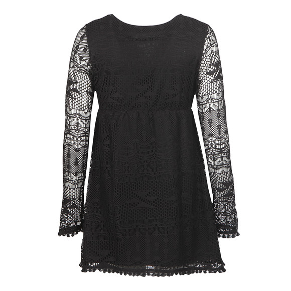 Babymilk Womens Black Long Sleeve Textured Dress main image
