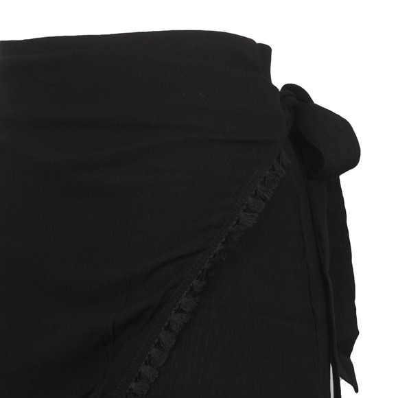 Babymilk Womens Black Wrap Skirt main image