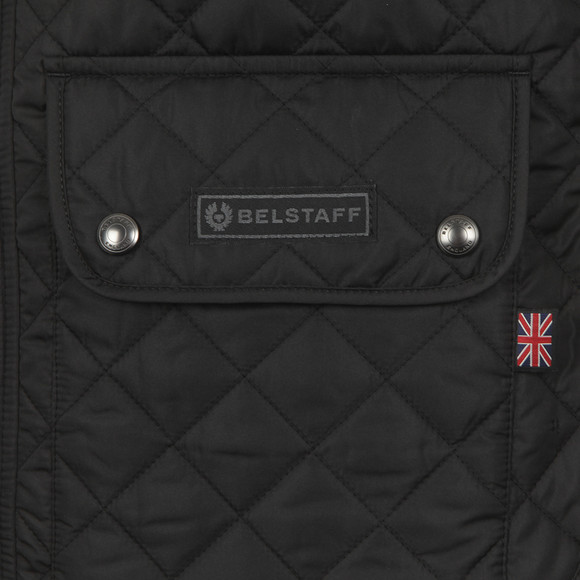 Belstaff Mens Black Quilted Waistcoat main image