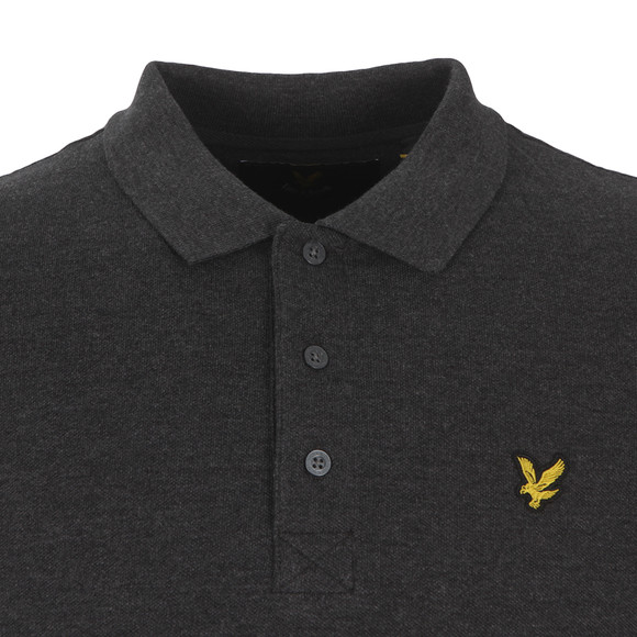 Lyle and Scott Mens Grey S/S Polo main image