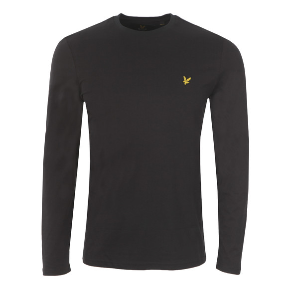 Lyle and Scott Mens Black L/S Tee main image