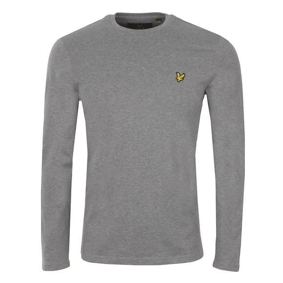 Lyle and Scott Mens Grey L/S Tee main image