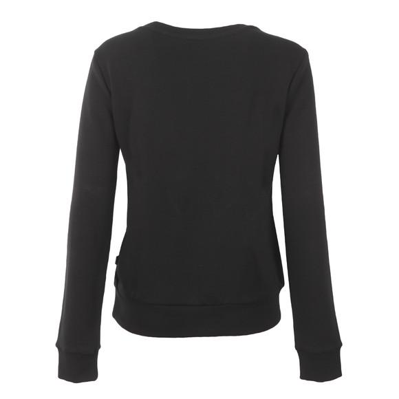 Adidas Originals Womens Black Crew Sweatshirt main image