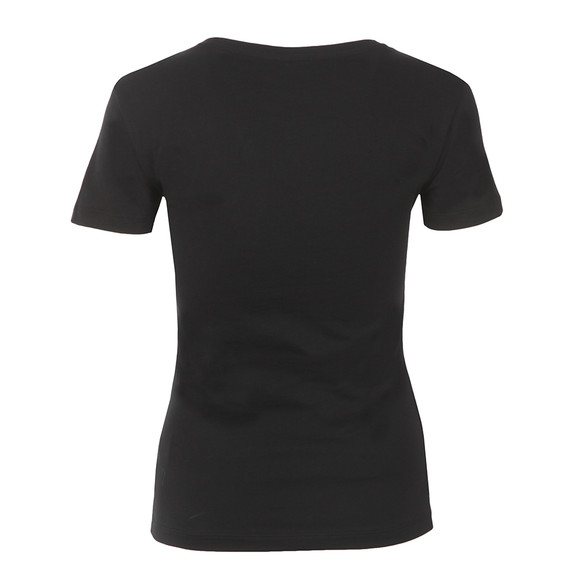 Adidas Originals Womens Black Trefoil Tee main image