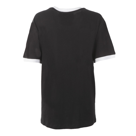 Adidas Originals Womens Black 3 Stripes Tee main image