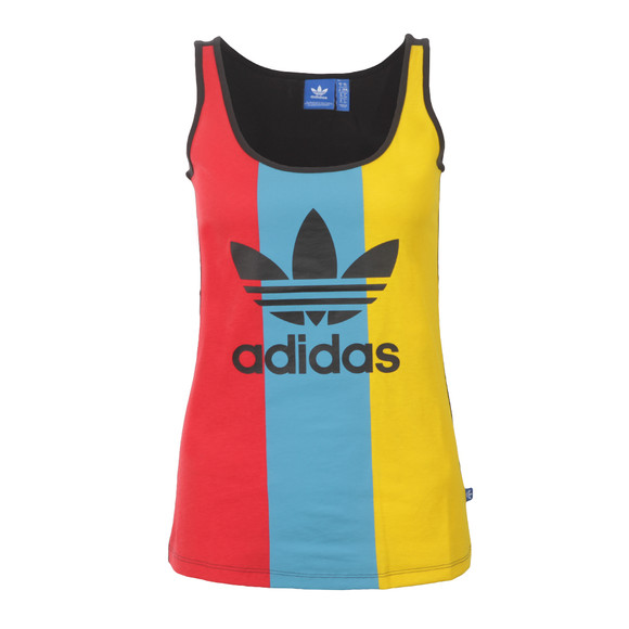 Adidas Originals Womens Multicoloured Trefoil Tank main image