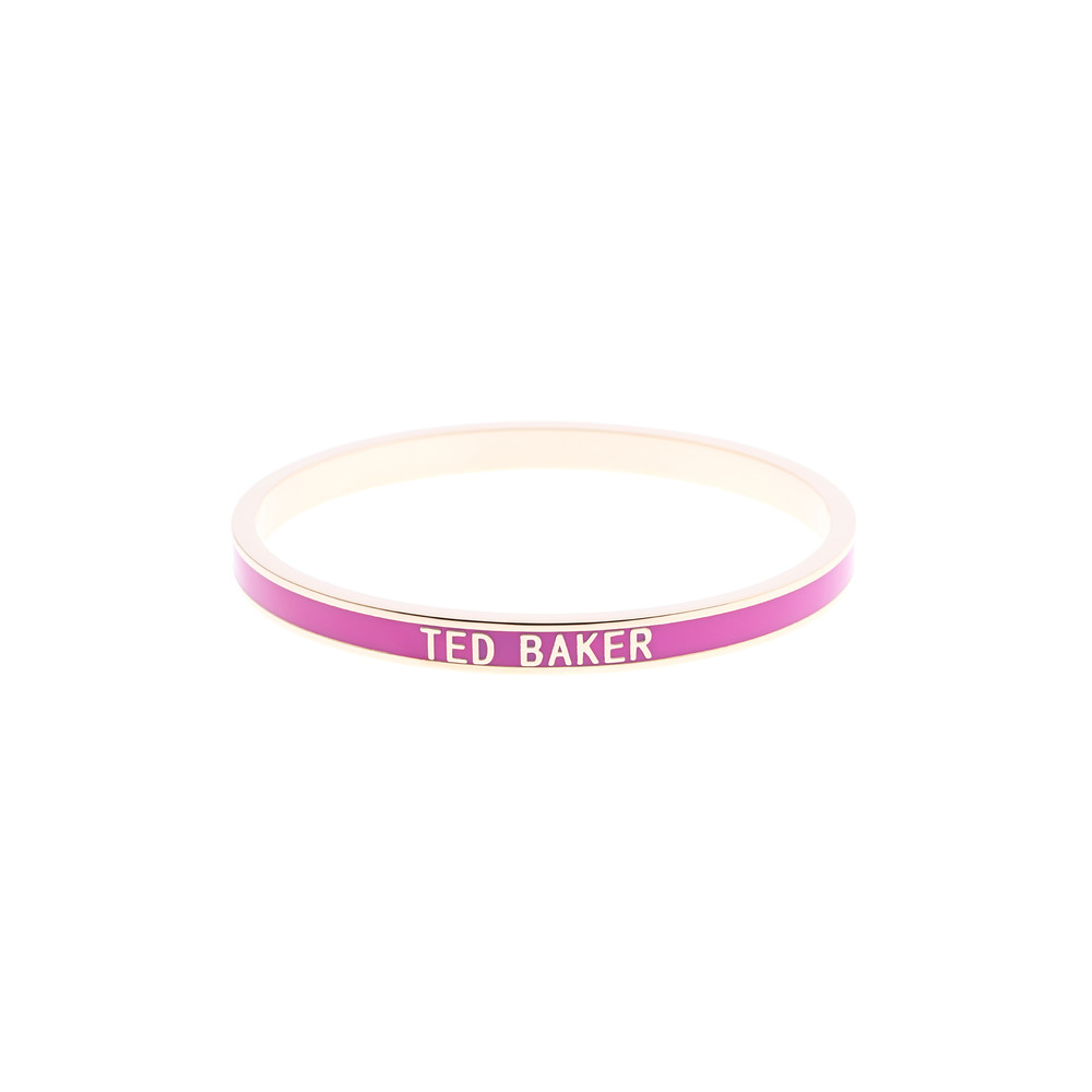 Clary Narrow Enamel Bangle main image