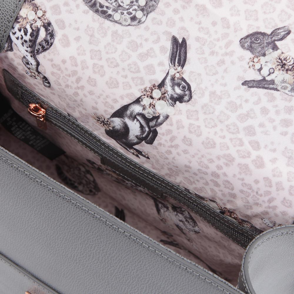 Ellice Caviar Leather Top Handle Bag main image