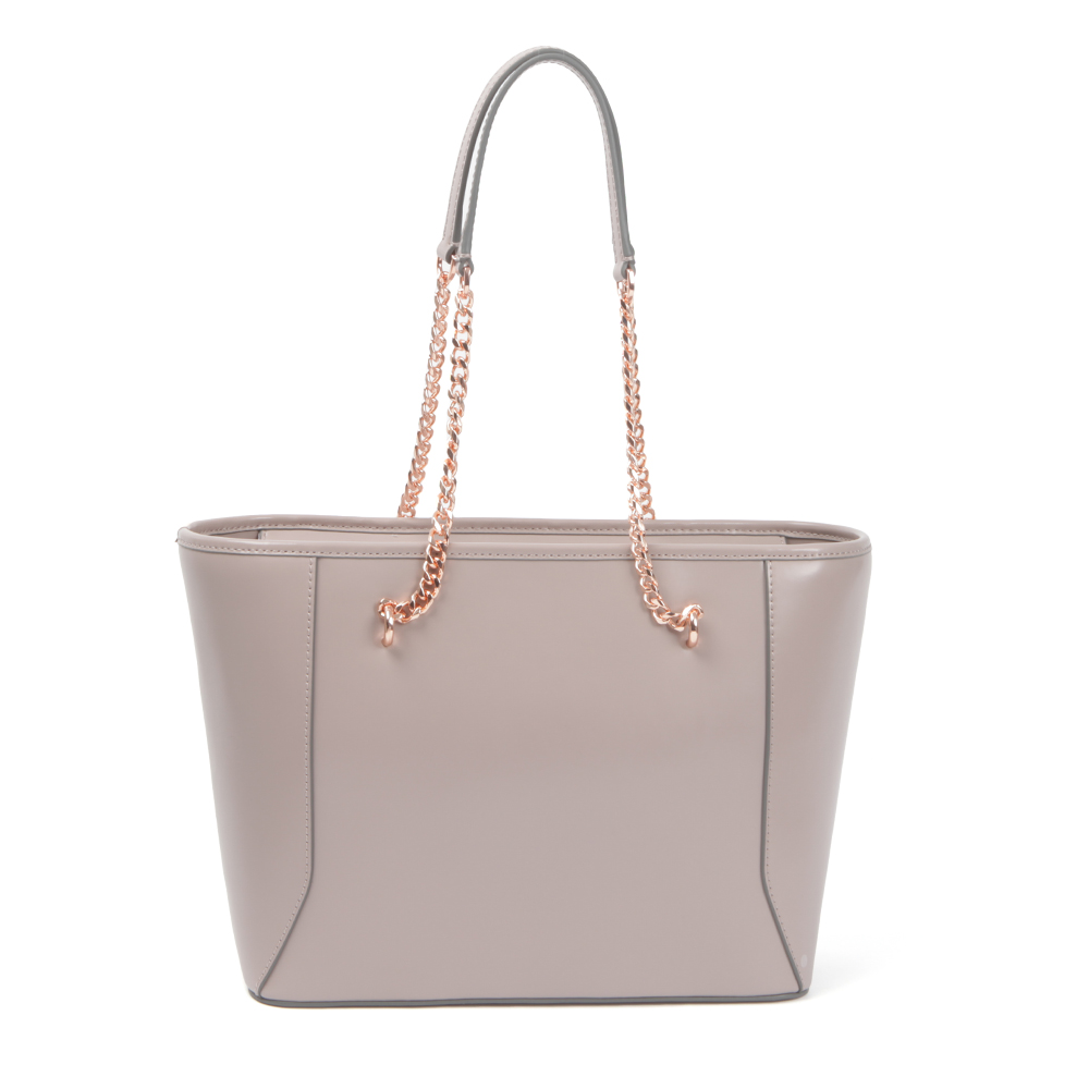 Jalie Geometric Bow Leather Shopper main image