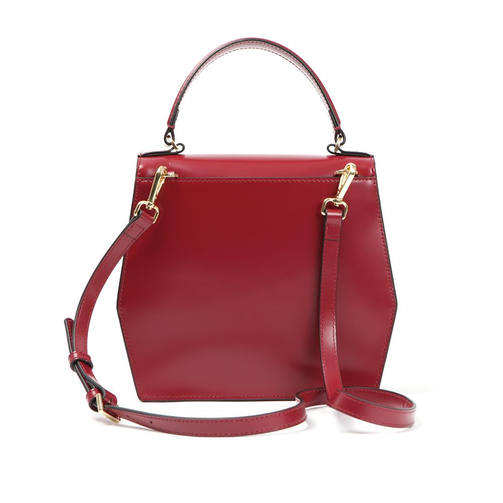 Gerri Geometric Bow Top Handle Bag main image