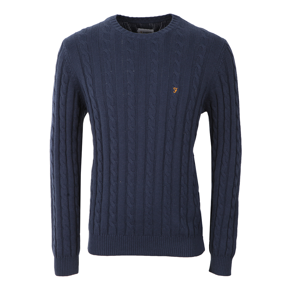 Norfolk Cable Crew Jumper main image
