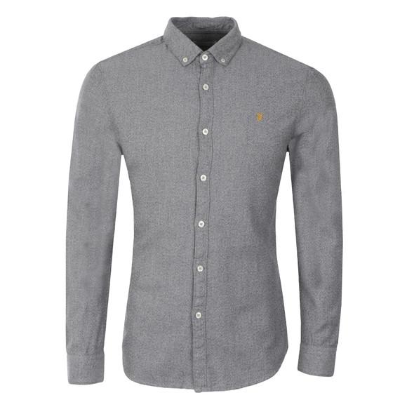 Farah Mens Grey L/S Wes Shirt main image