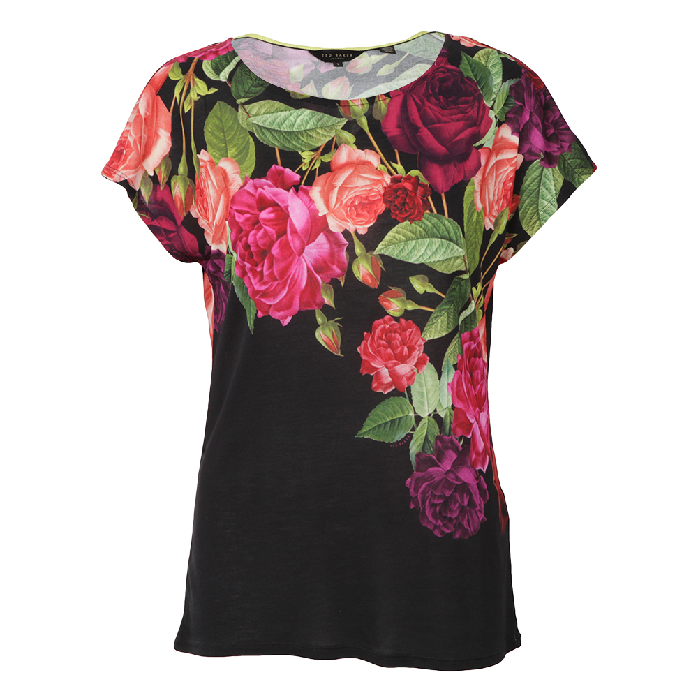 Qutie Juxtapose Rose Tee main image