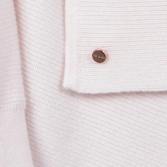 Ted Baker Womens Pink Siara Rib Magnetic Fastening Wrap main image