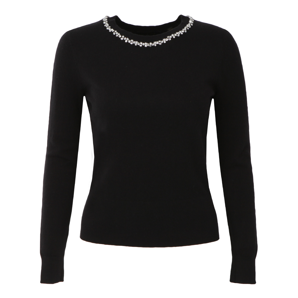 Ariya Embellished Long Sleeve Jumper main image