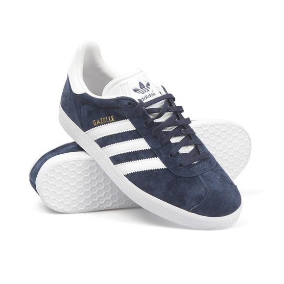 Adidas Originals Womens Blue Gazelle 2 J Trainer main image
