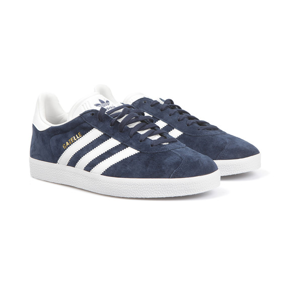 Adidas Originals Womens Blue Gazelle 2 J Trainer main image