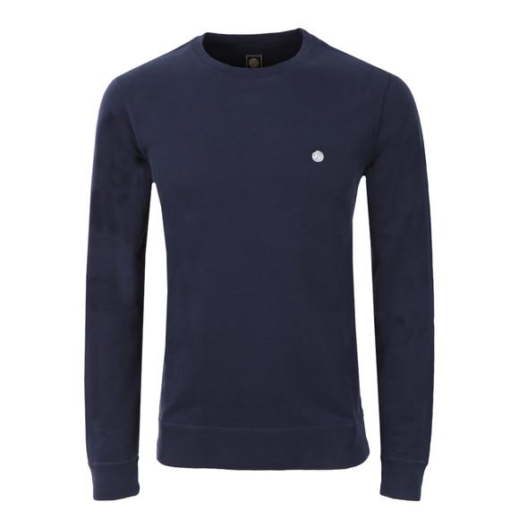 Pretty Green Mens Blue Foxlair Sweatshirt main image