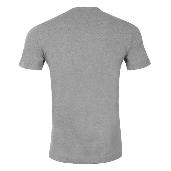 EA7 Emporio Armani Mens Grey Embossed Logo T Shirt main image