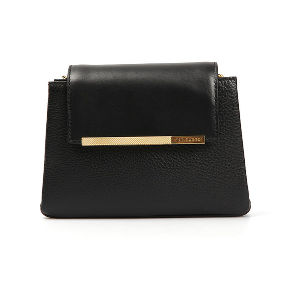 Ted Baker Womens Black Fae Folded Edge Mini Crossbody Bag main image