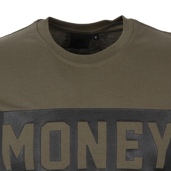 Money Mens Green Punch Out T Shirt main image