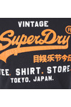 Superdry Mens Blue Shop Duo Tee