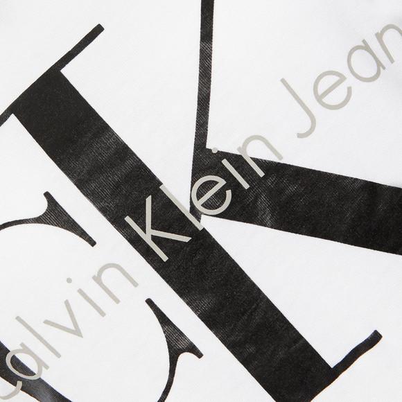 Calvin Klein Womens White Shrunken T Shirt main image