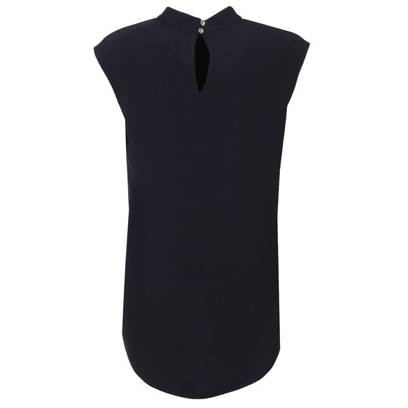 Ted Baker Womens Blue Vaniah Easy Longline Top main image