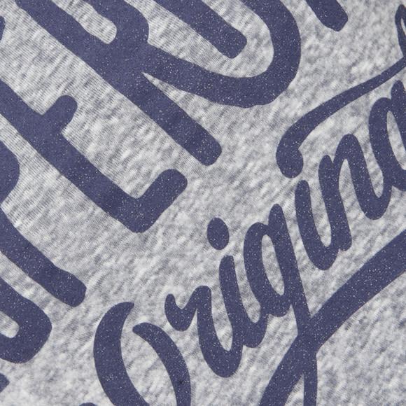 Superdry Womens Blue MFG Original Tee main image
