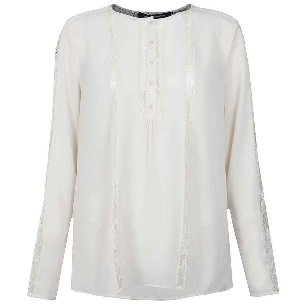 Polly Plains Long Sleeve Roundneck Top main image