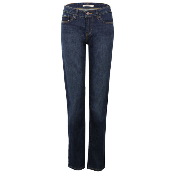 Levi's Womens Blue 714 Straight Jean main image