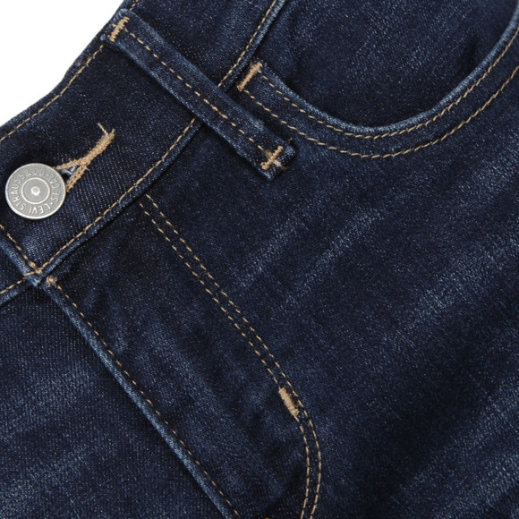 Levi's Womens Yellow 710 Super Skinny Jean main image